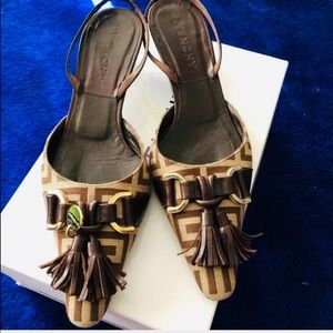 Authentic Givenchy Monogram Slip On Sandals Mules